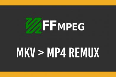 Convert video files  using FFMPEG in Linux