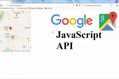 Get selected location's coordinates using Google's Javascript API