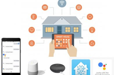 Smart Switch using NodeMCU – Works with Google Home Assistant