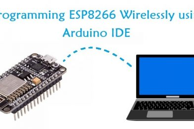 NodeMCU ESP8266 Over The Air (OTA) Programming In Arduino IDE