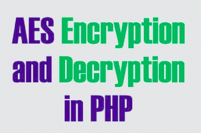 Basic AES-128-ECB Encryption/Decryption with PHP
